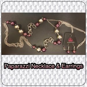 Paparazzi Necklace & Earring Set NEW!